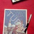Folletos de turismo: TUBAL ITALIA SANTUARIOS DE ITALIA 1932 FOLLETO TURISMO. Lote 160528542