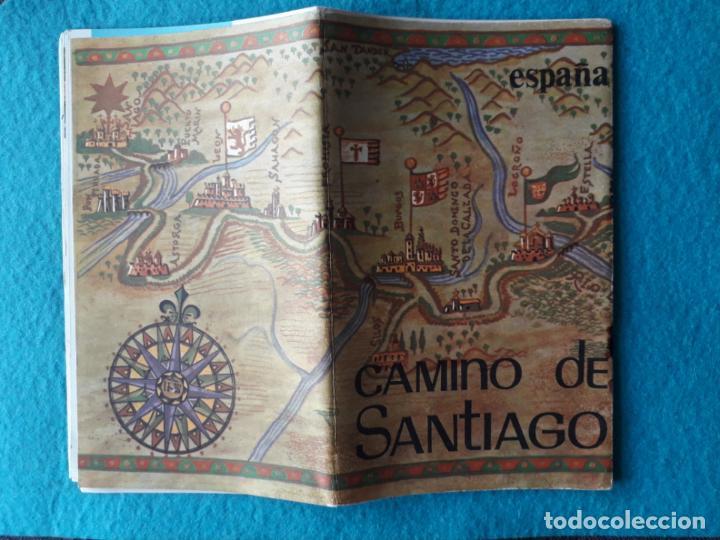 Folletos de turismo: Lote de 3 Folletos de Turismo de Santiago de Compostela. Años 60 - Foto 5 - 160841618