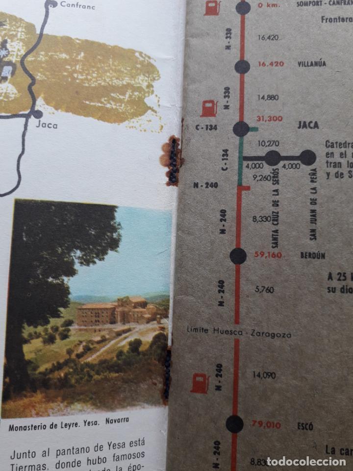 Folletos de turismo: Lote de 3 Folletos de Turismo de Santiago de Compostela. Años 60 - Foto 8 - 160841618