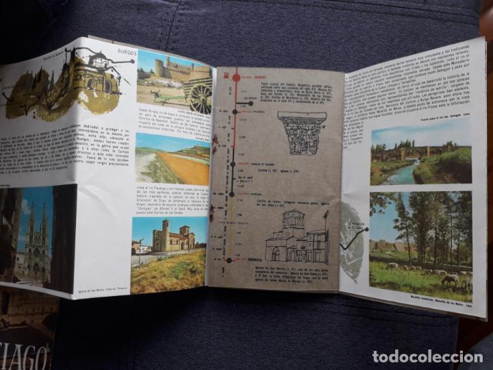 Folletos de turismo: Lote de 3 Folletos de Turismo de Santiago de Compostela. Años 60 - Foto 10 - 160841618