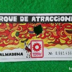 Folletos de turismo: ENTRADA PARQUE DE ATRACCIONES DE BENALMADENA . Lote 161447894
