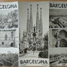 Folletos de turismo: BARCELONA. TRIPTICO. FOLLETO DE TURISMO. EN FRANCES... Lote 161551078