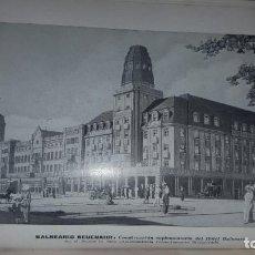 Folletos de turismo: LOS BALNEARIOS DE LA ALEMANIA OCCIDENTAL (HACIA 1914). Lote 161724630