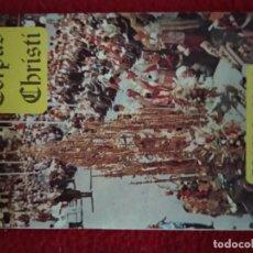 Folletos de turismo: CORPUS CHRISTI DE TOLEDO, 1974 (PROGRAMA). Lote 162105230