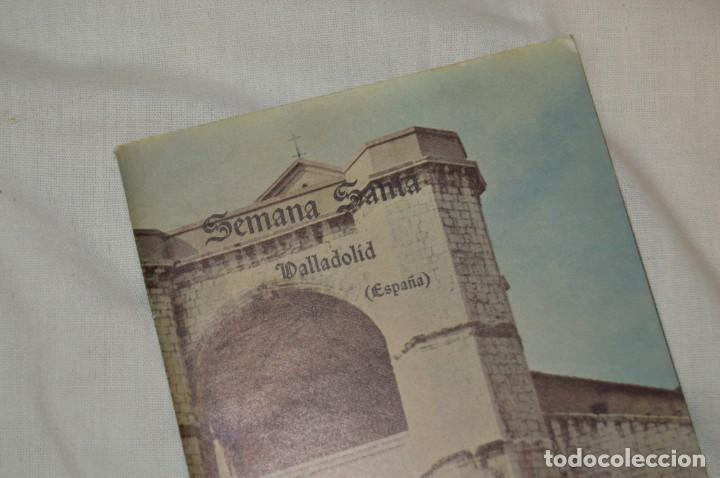 Folletos de turismo: ANTIGUO FOLLETO DESPLEGABLE EN 12 PARTES - FOURNIER 1962 - SEMANA SANTA DE VALLADOLID - VINTAGE - Foto 2 - 162967350