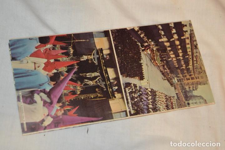 Folletos de turismo: ANTIGUO FOLLETO DESPLEGABLE EN 12 PARTES - FOURNIER 1962 - SEMANA SANTA DE VALLADOLID - VINTAGE - Foto 3 - 162967350
