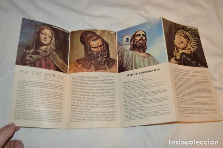 Folletos de turismo: ANTIGUO FOLLETO DESPLEGABLE EN 12 PARTES - FOURNIER 1962 - SEMANA SANTA DE VALLADOLID - VINTAGE - Foto 5 - 162967350