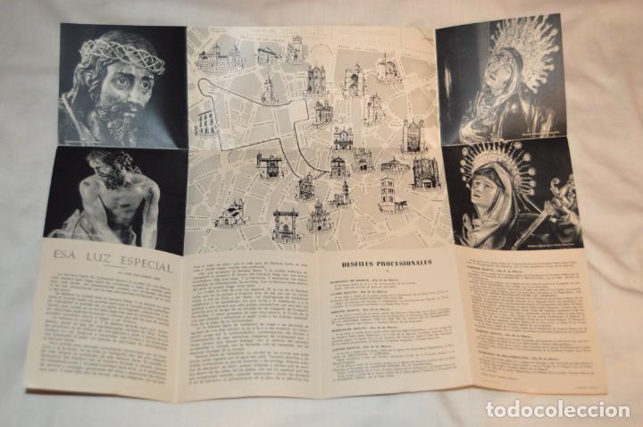 Folletos de turismo: ANTIGUO FOLLETO DESPLEGABLE EN 12 PARTES - FOURNIER 1962 - SEMANA SANTA DE VALLADOLID - VINTAGE - Foto 6 - 162967350