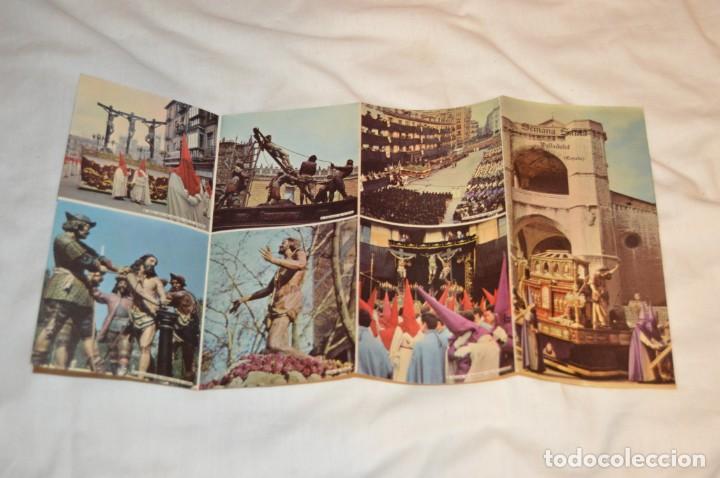 Folletos de turismo: ANTIGUO FOLLETO DESPLEGABLE EN 12 PARTES - FOURNIER 1962 - SEMANA SANTA DE VALLADOLID - VINTAGE - Foto 7 - 162967350