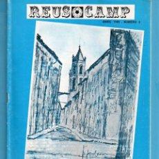 Folletos de turismo: FOLLETO PUBLICIDAD DE REUS CAMP DE MARC 1989 Nº 2º PUBLICADA POR AGRUPACION VETERANOS FUTBOL REUS . Lote 164028142
