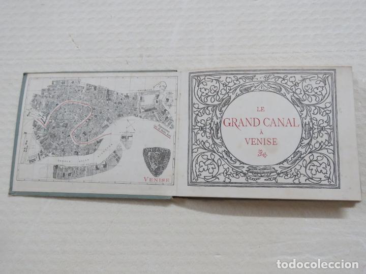 Folletos de turismo: ALBUM CON MAS DE 50 GRABADOS DE FERDINANDO ONGANIA (1842-1911) - PALACIOS CELEBRES DE VENECIA- 1880 - Foto 2 - 164606514