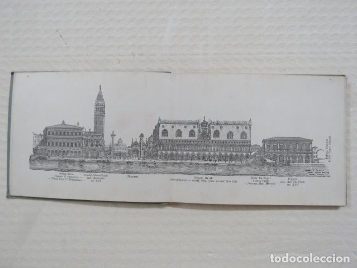 Folletos de turismo: ALBUM CON MAS DE 50 GRABADOS DE FERDINANDO ONGANIA (1842-1911) - PALACIOS CELEBRES DE VENECIA- 1880 - Foto 3 - 164606514
