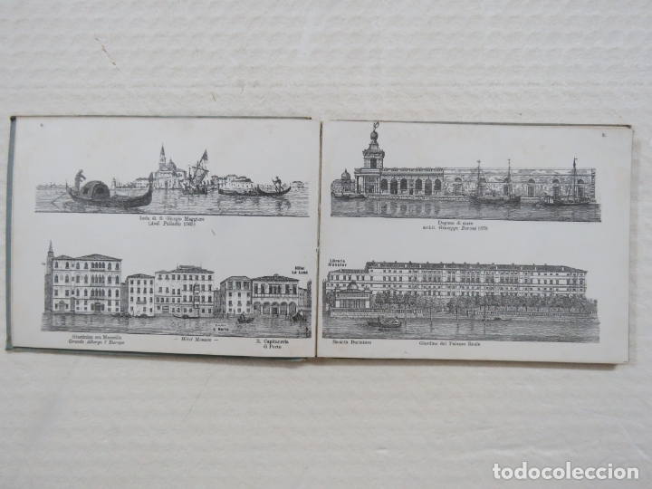Folletos de turismo: ALBUM CON MAS DE 50 GRABADOS DE FERDINANDO ONGANIA (1842-1911) - PALACIOS CELEBRES DE VENECIA- 1880 - Foto 5 - 164606514