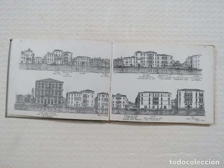 Folletos de turismo: ALBUM CON MAS DE 50 GRABADOS DE FERDINANDO ONGANIA (1842-1911) - PALACIOS CELEBRES DE VENECIA- 1880 - Foto 6 - 164606514