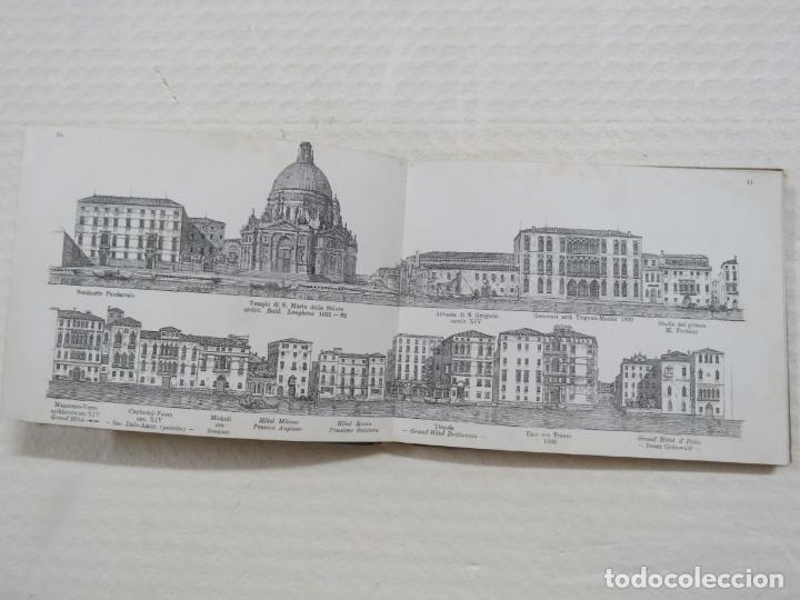 Folletos de turismo: ALBUM CON MAS DE 50 GRABADOS DE FERDINANDO ONGANIA (1842-1911) - PALACIOS CELEBRES DE VENECIA- 1880 - Foto 7 - 164606514