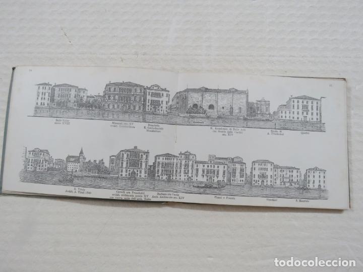Folletos de turismo: ALBUM CON MAS DE 50 GRABADOS DE FERDINANDO ONGANIA (1842-1911) - PALACIOS CELEBRES DE VENECIA- 1880 - Foto 8 - 164606514