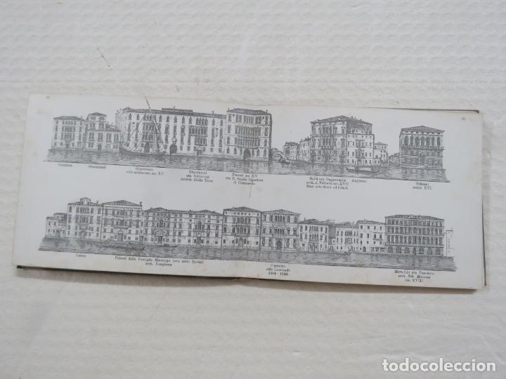 Folletos de turismo: ALBUM CON MAS DE 50 GRABADOS DE FERDINANDO ONGANIA (1842-1911) - PALACIOS CELEBRES DE VENECIA- 1880 - Foto 9 - 164606514