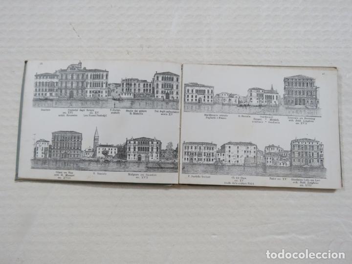 Folletos de turismo: ALBUM CON MAS DE 50 GRABADOS DE FERDINANDO ONGANIA (1842-1911) - PALACIOS CELEBRES DE VENECIA- 1880 - Foto 10 - 164606514