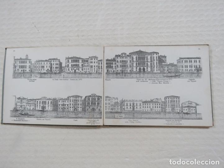 Folletos de turismo: ALBUM CON MAS DE 50 GRABADOS DE FERDINANDO ONGANIA (1842-1911) - PALACIOS CELEBRES DE VENECIA- 1880 - Foto 11 - 164606514