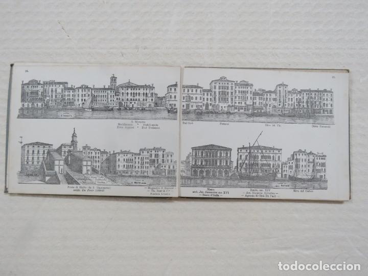 Folletos de turismo: ALBUM CON MAS DE 50 GRABADOS DE FERDINANDO ONGANIA (1842-1911) - PALACIOS CELEBRES DE VENECIA- 1880 - Foto 12 - 164606514