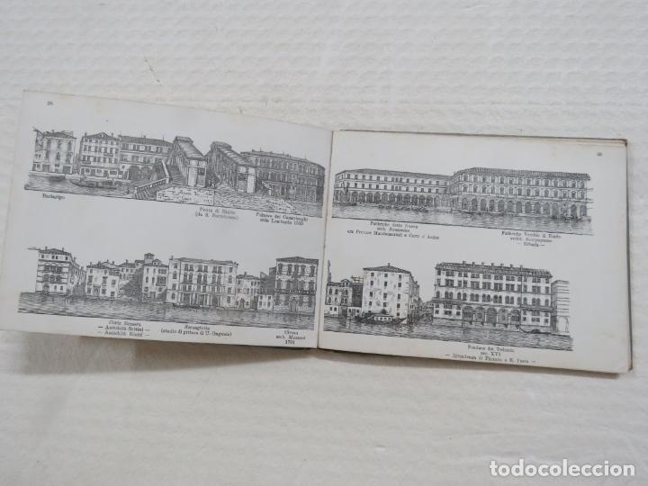 Folletos de turismo: ALBUM CON MAS DE 50 GRABADOS DE FERDINANDO ONGANIA (1842-1911) - PALACIOS CELEBRES DE VENECIA- 1880 - Foto 13 - 164606514