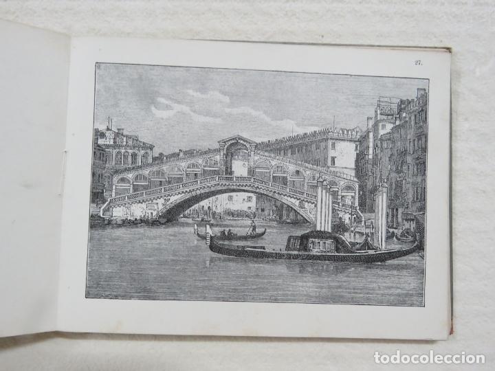 Folletos de turismo: ALBUM CON MAS DE 50 GRABADOS DE FERDINANDO ONGANIA (1842-1911) - PALACIOS CELEBRES DE VENECIA- 1880 - Foto 14 - 164606514