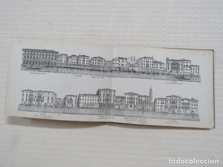 Folletos de turismo: ALBUM CON MAS DE 50 GRABADOS DE FERDINANDO ONGANIA (1842-1911) - PALACIOS CELEBRES DE VENECIA- 1880 - Foto 15 - 164606514