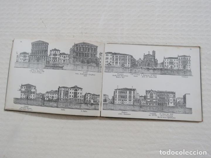 Folletos de turismo: ALBUM CON MAS DE 50 GRABADOS DE FERDINANDO ONGANIA (1842-1911) - PALACIOS CELEBRES DE VENECIA- 1880 - Foto 16 - 164606514