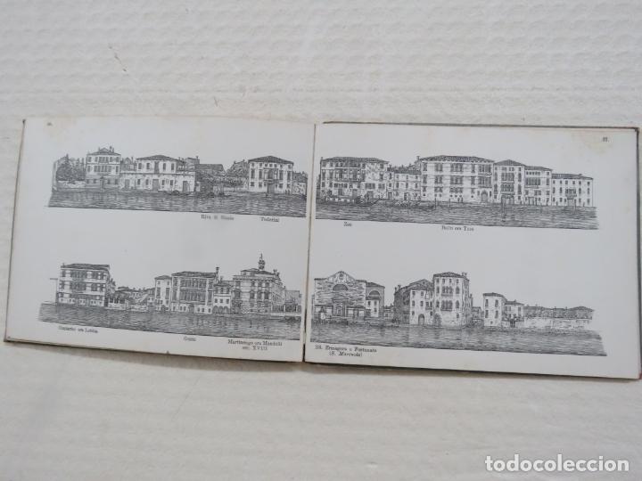 Folletos de turismo: ALBUM CON MAS DE 50 GRABADOS DE FERDINANDO ONGANIA (1842-1911) - PALACIOS CELEBRES DE VENECIA- 1880 - Foto 17 - 164606514