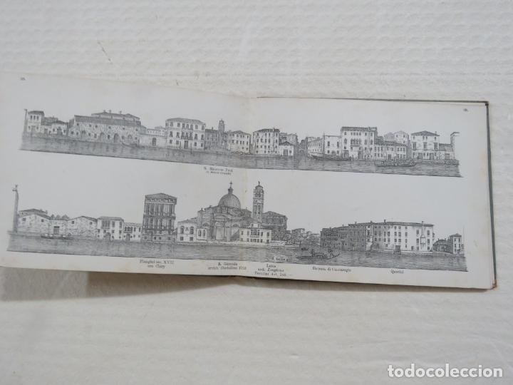 Folletos de turismo: ALBUM CON MAS DE 50 GRABADOS DE FERDINANDO ONGANIA (1842-1911) - PALACIOS CELEBRES DE VENECIA- 1880 - Foto 19 - 164606514
