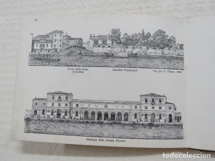 Folletos de turismo: ALBUM CON MAS DE 50 GRABADOS DE FERDINANDO ONGANIA (1842-1911) - PALACIOS CELEBRES DE VENECIA- 1880 - Foto 20 - 164606514