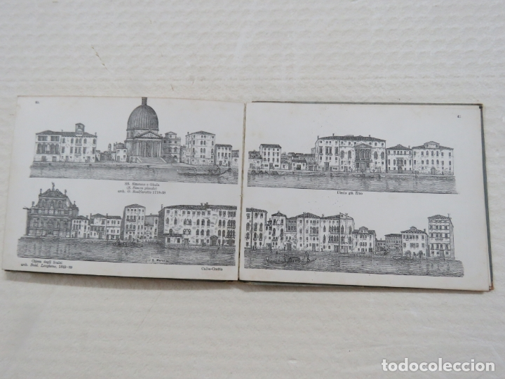 Folletos de turismo: ALBUM CON MAS DE 50 GRABADOS DE FERDINANDO ONGANIA (1842-1911) - PALACIOS CELEBRES DE VENECIA- 1880 - Foto 21 - 164606514