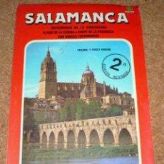 Folletos de turismo: SALAMANCA, GUIA TURISTICA Y MAPA, 1989. Lote 164755350