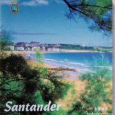 Folletos de turismo: GUIA CALLEJERO SANTANDER 1997. Lote 165881954