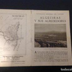 Brochures de tourisme: ANTIGUO FOLLETO TURISTICO PRINCIPIO XX ALGECIRAS TARIFA . Lote 166202182