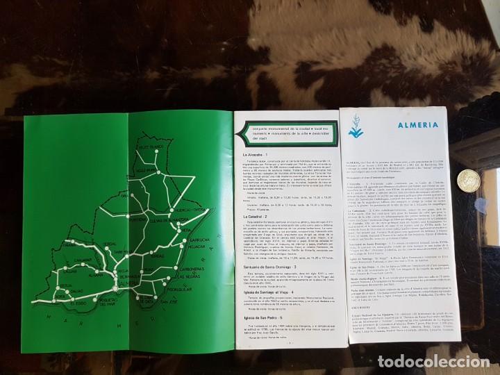 Folletos de turismo: Libreto guía de Almería. Datos informativos - Foto 2 - 166763498