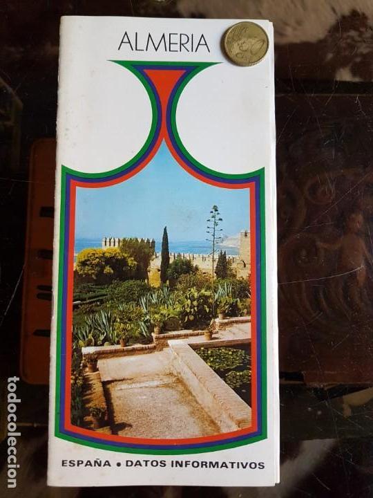 LIBRETO GUÍA DE ALMERÍA. DATOS INFORMATIVOS (Coleccionismo - Folletos de Turismo)