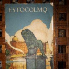 Folletos de turismo: ANTIGUO FOLLETO TURISMO ESTOCOLMO.1928.. Lote 167780808