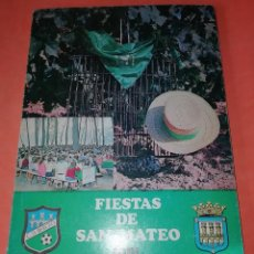 Folletos de turismo: FIESTAS DE SAN MATEO. LOGROÑO 1981. LIBRITO EN BUEN ESTADO.. Lote 168023772