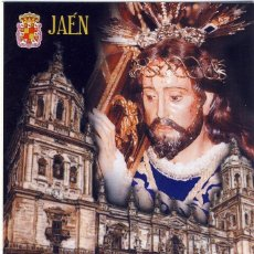 Folletos de turismo: JAÉN.- SEMANA SANTA 2005.- HORARIOS DE PROCESIONES, RECORRIDOS, PASOS, ETC.- (3). Lote 168094056