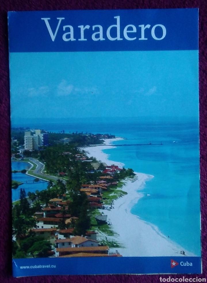 FOLLETO TURISMO CUBA VARADERO (Coleccionismo - Folletos de Turismo)