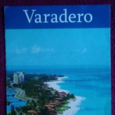 Folletos de turismo: FOLLETO TURISMO CUBA VARADERO. Lote 168209690
