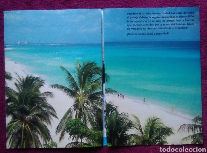 Folletos de turismo: Folleto turismo Cuba varadero - Foto 3 - 168209690