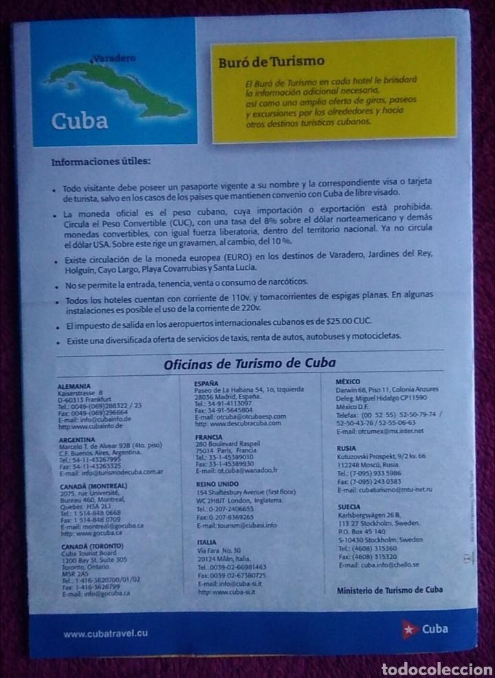 Folletos de turismo: Folleto turismo Cuba varadero - Foto 4 - 168209690
