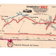 Tourismusbroschüren - ITINERARIOS FELY - PATRONATO NACIONAL DE TURISMO - MERIDA. BADAJOZ - TROZO Nº 9 - FOT. SALMEA - 168288908