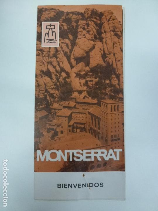 FOLLETO DE MONTSERRAT 1971. (Coleccionismo - Folletos de Turismo)