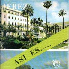 Folletos de turismo: ASI ES...JEREZ. CAJA RURAL PROVINCIAL DE CADIZ.. Lote 168803824