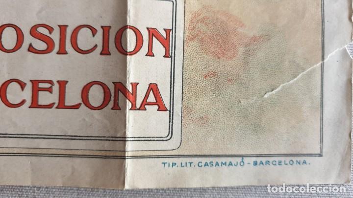 Folletos de turismo: FOLLETO EXPOSICION DE BARCELONA ,BANDERAS DE LAS LINEAS DE LOS TRANVIAS DE BARCELONA. - Foto 3 - 169085984