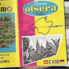 Folhetos de turismo: GUIA FOLLETO OLSECA * PALMA DE MALLORCA , CON PLANO * 1960. Lote 236171610