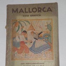 Folletos de turismo: MALLORCA GUIA GRAFICA -- JOSE COSTA -FERRER. Lote 169739748